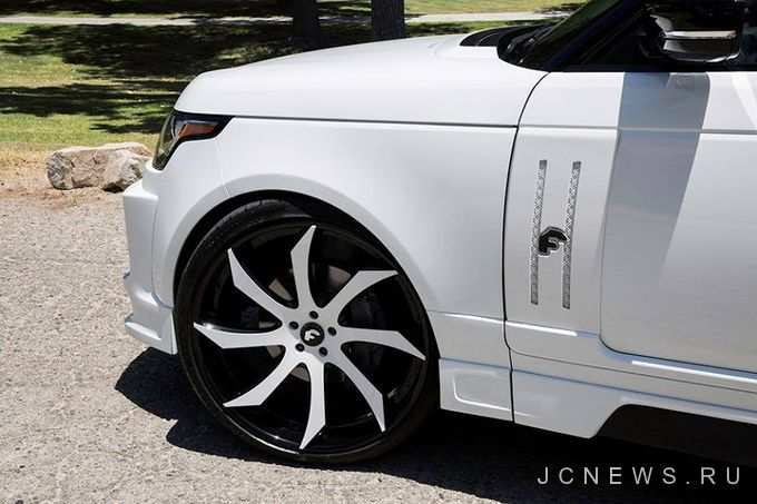 Range Rover Vogue от Forgiato Wheels